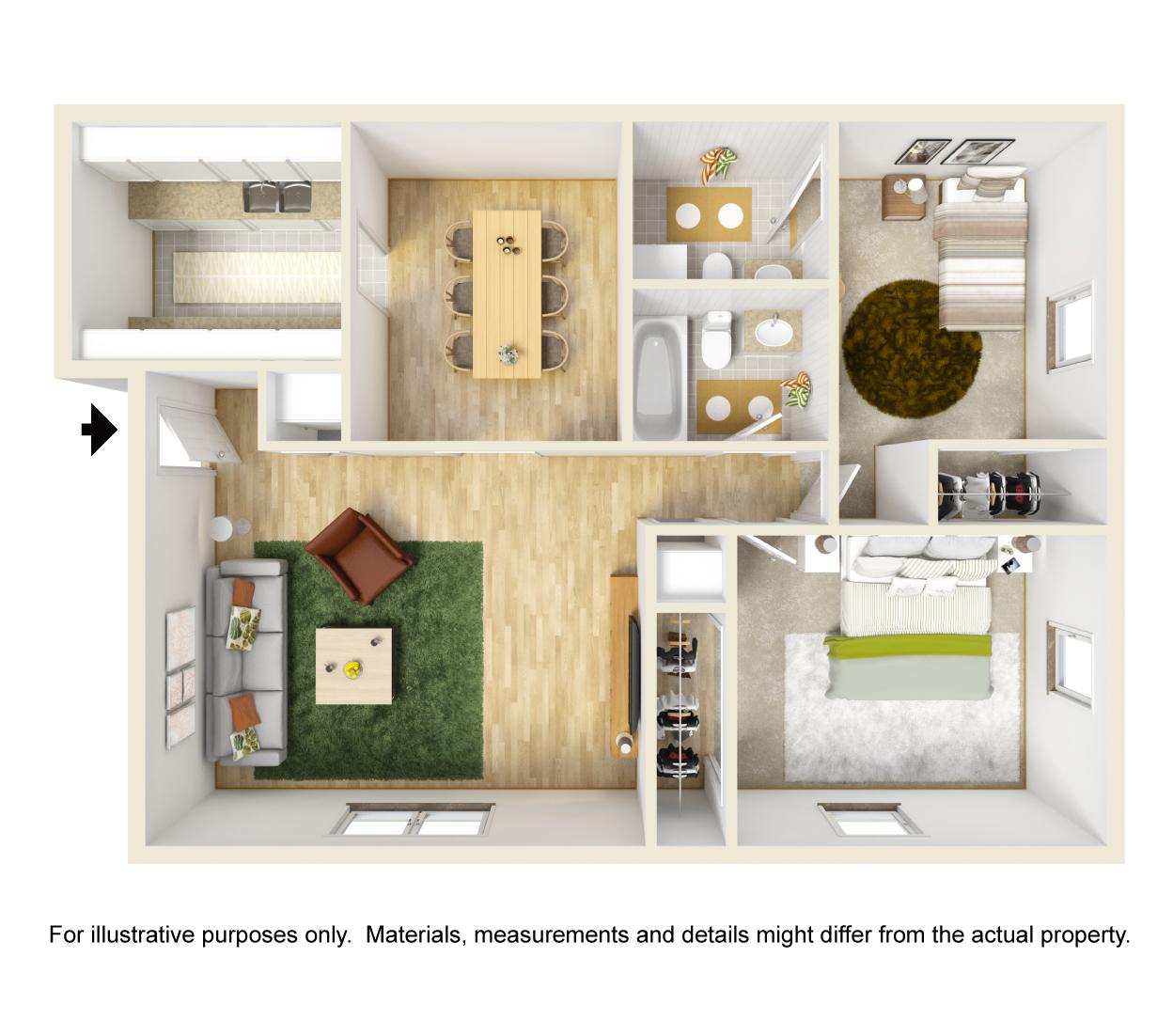1 Bedroom Apartments In Blacksburg Va